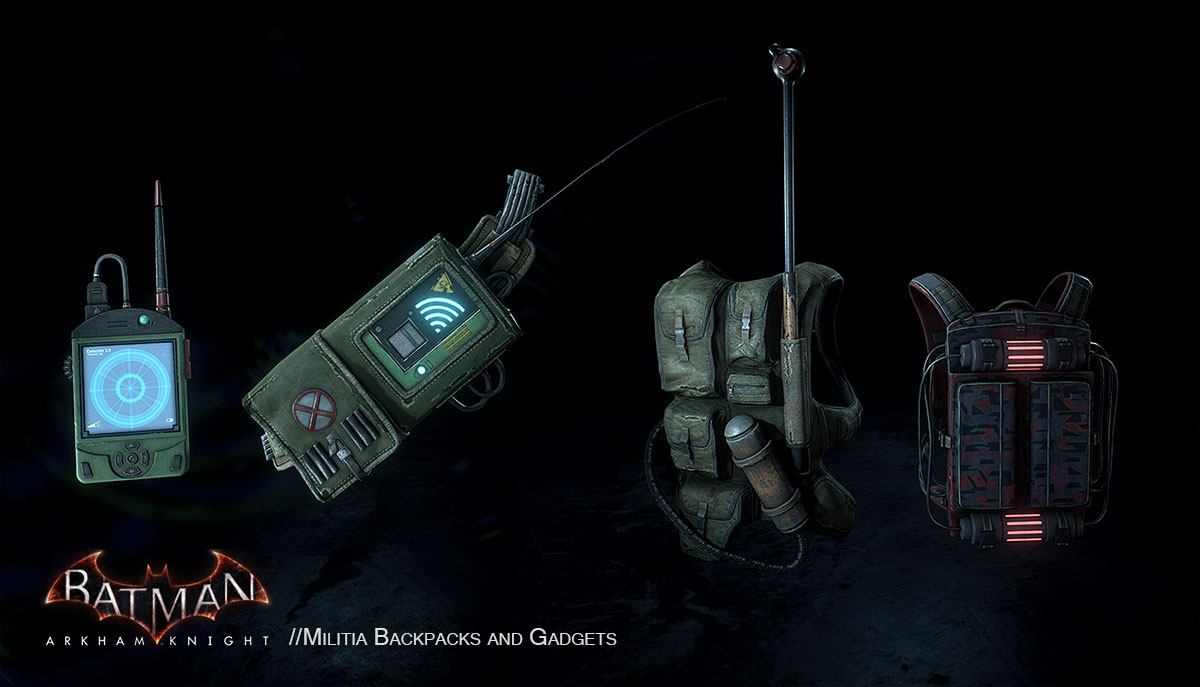 Batman  Arkham Knight Weapons And Hero Assets